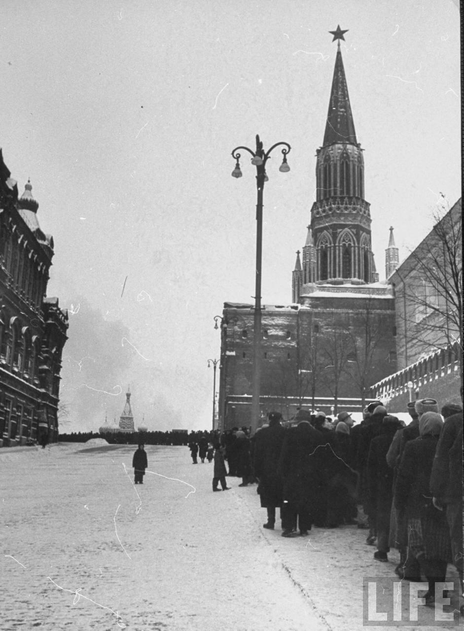 Зима в Москве 1959 года