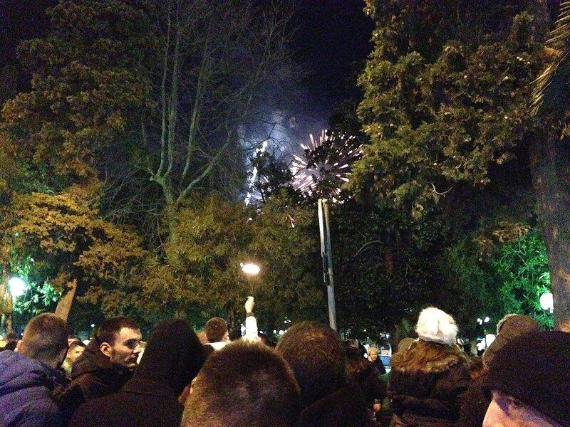 Новый год 2015 в Будве