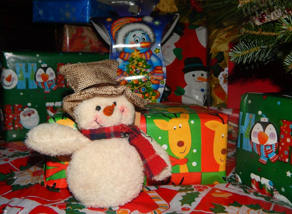 Титанчик и Элвис. Рождество-2015.