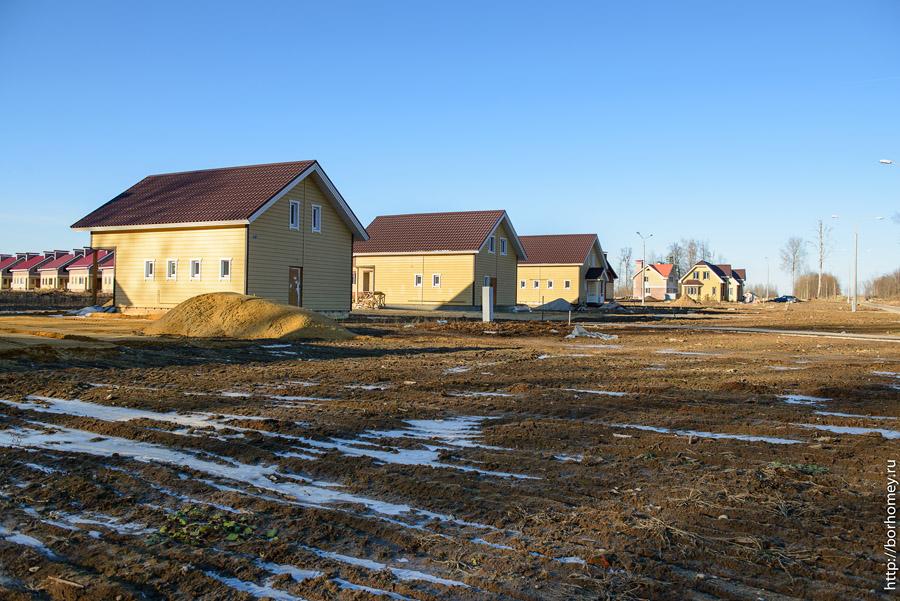 солнечные фотографии коттеджного поселка
