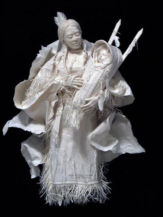 Удивительные скульптуры из бумажной массы 0 115b62 d78c7380 orig