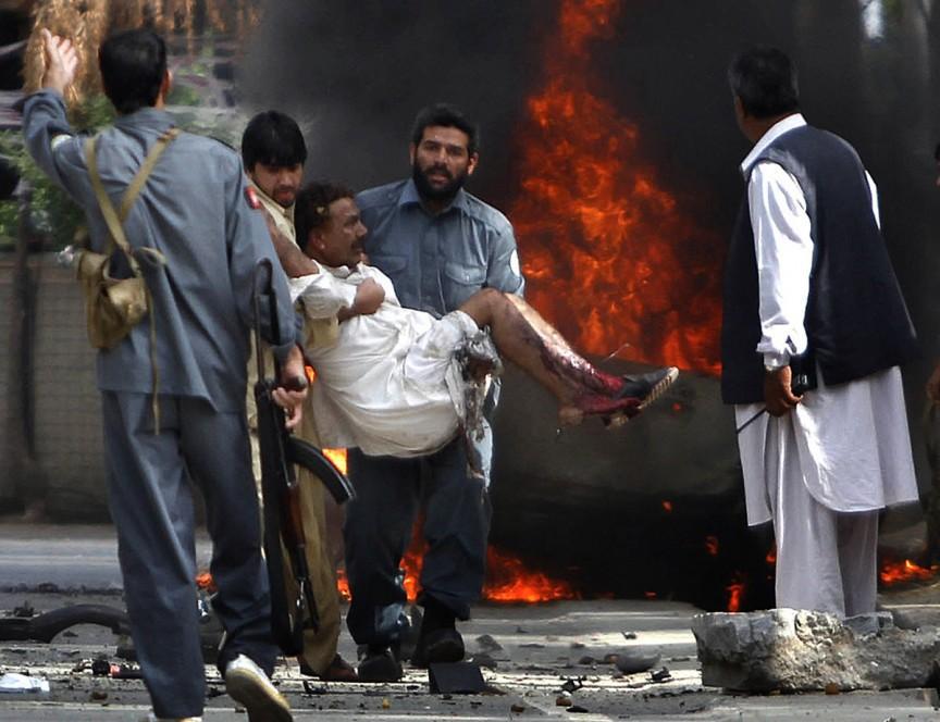 Как и в Багдаде, в Кабуле ад начался с вторжения американских войск. Кабул, столица Афганистана, вош