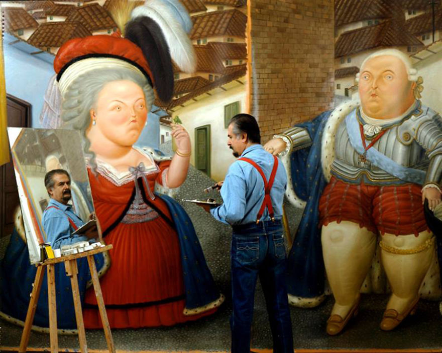 21. Фернандо Ботеро (Fernando Botero)
