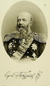 Начальник соединенных эскадр в Чифу вице-адмирал Сергей Петрович Тыртов