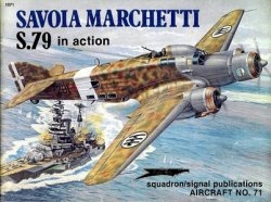 Журнал Savoia Marchetti S.79 In Action 71