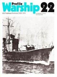 Книга Warships in Profile 22-IJN Yukikaze