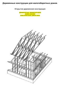 Книга Деревянные конструкции для малогабаритных домов