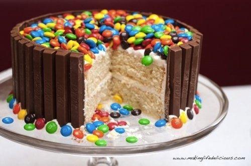 Торт из ммдемс с фото пошаговое