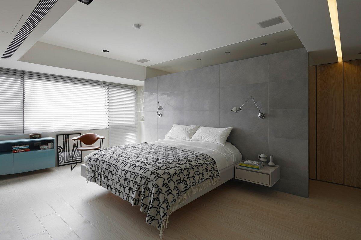 минимализм, интерьер квартиры в стиле минимализма, интерьер квартиры в стиле модерн, квартиры в Тайване фото, дизайн-студия KC Design Studio, модерн