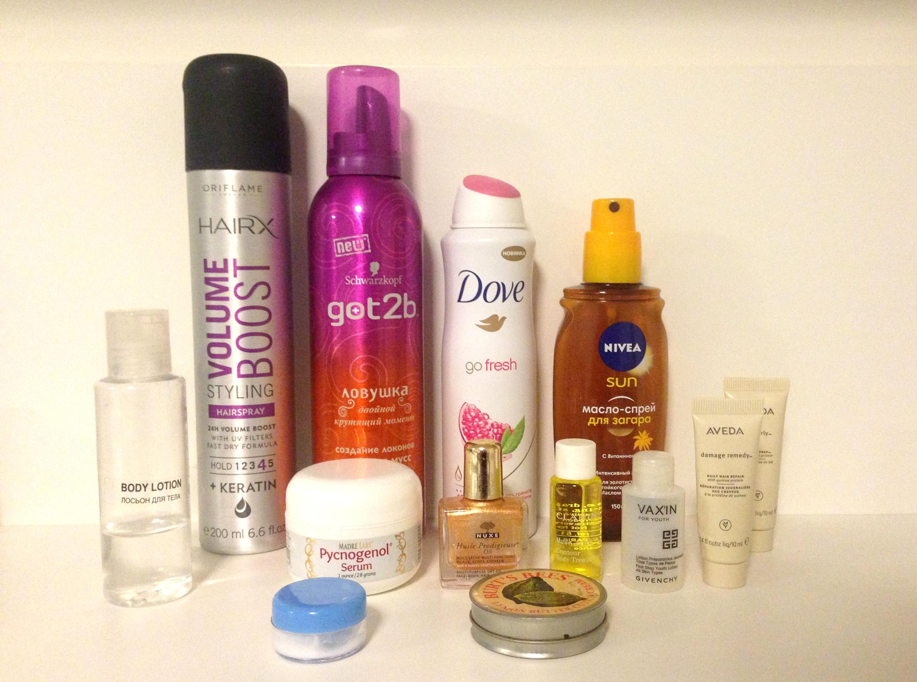 Какую косметику взять в отпуск: 15 проверенных продуктов