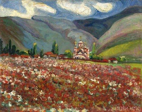 Надежда Петрович, Сербия, искусство
