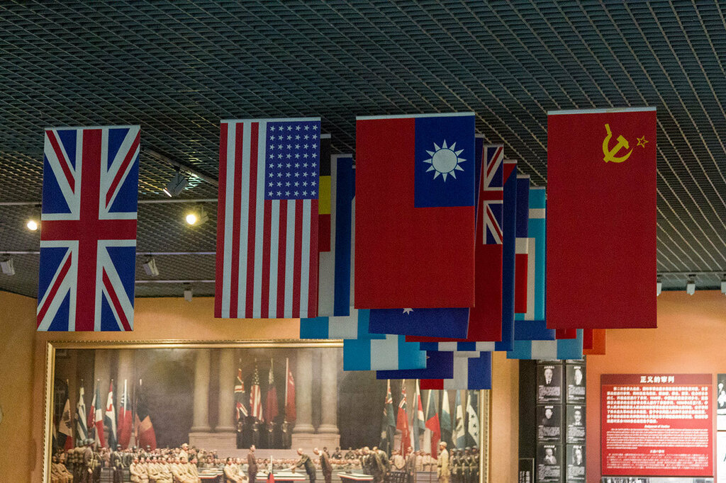 Флаги стран-победительниц во Второй мировой войне