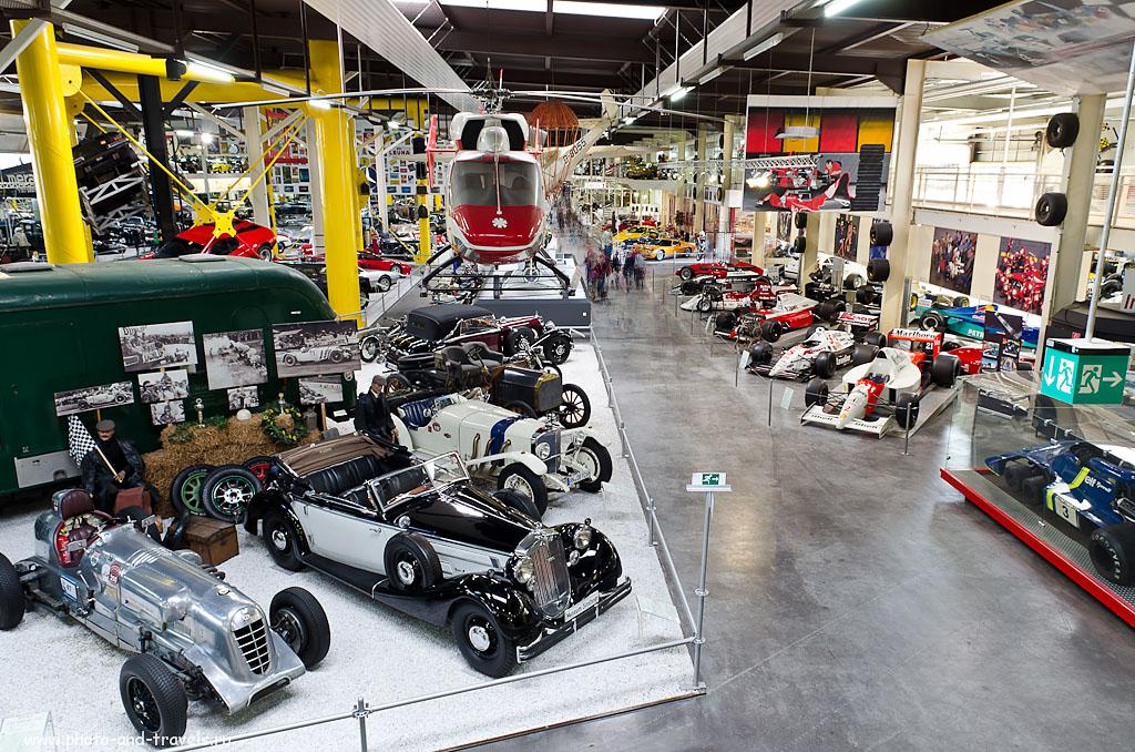 11. В Auto & Technik MUSEUM SINSHEIM можно увидеть большое количество гоночных болидов Formula-1