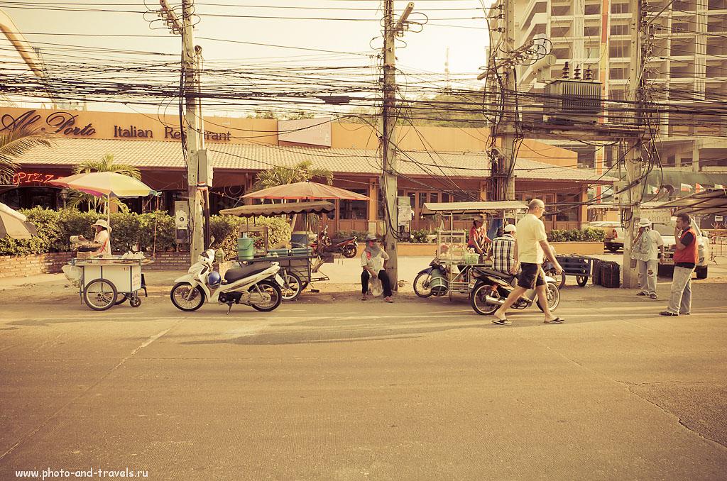 21. Передвижные лотки (макашницы) у пирса Бали Хай в Паттайе. Стоит ли ехать отдыхать в Таиланд.