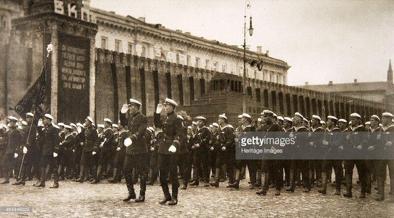 Москва, парад, 1925