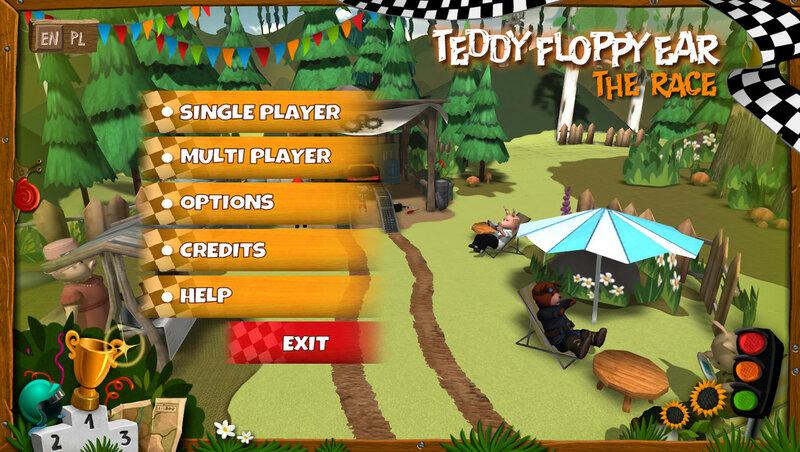 Teddy Floppy Ear: The Race