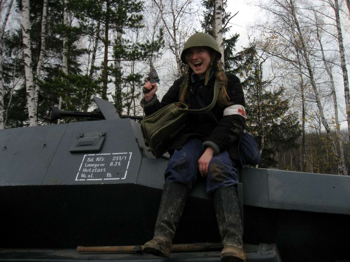 Забавные моменты из жизни военных реконструкторов (58)
