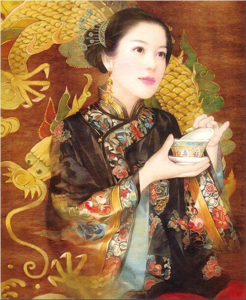 Классическая китайская живопись, немного манга и совсем немного аниме