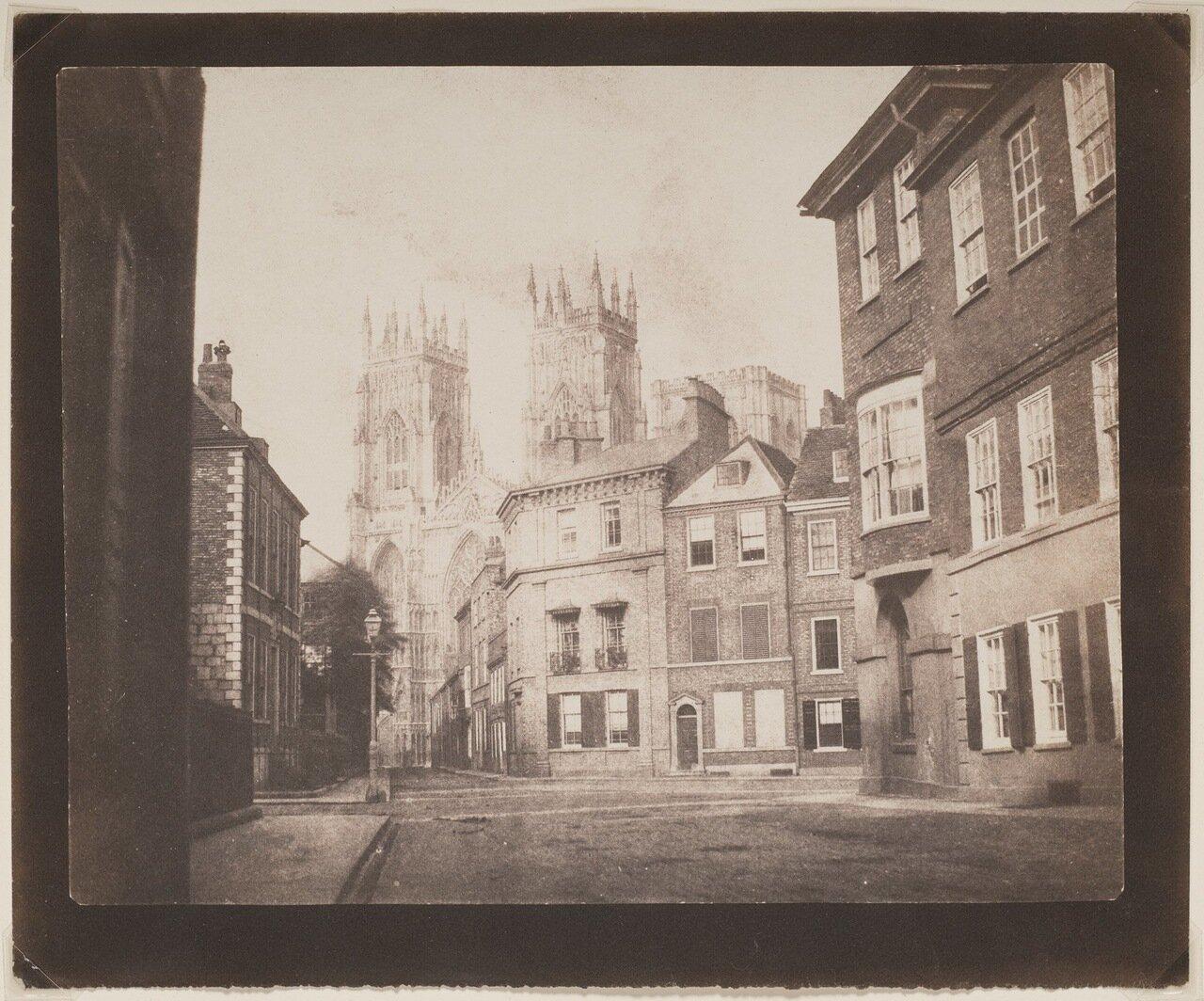 1845. Улица в Йорке