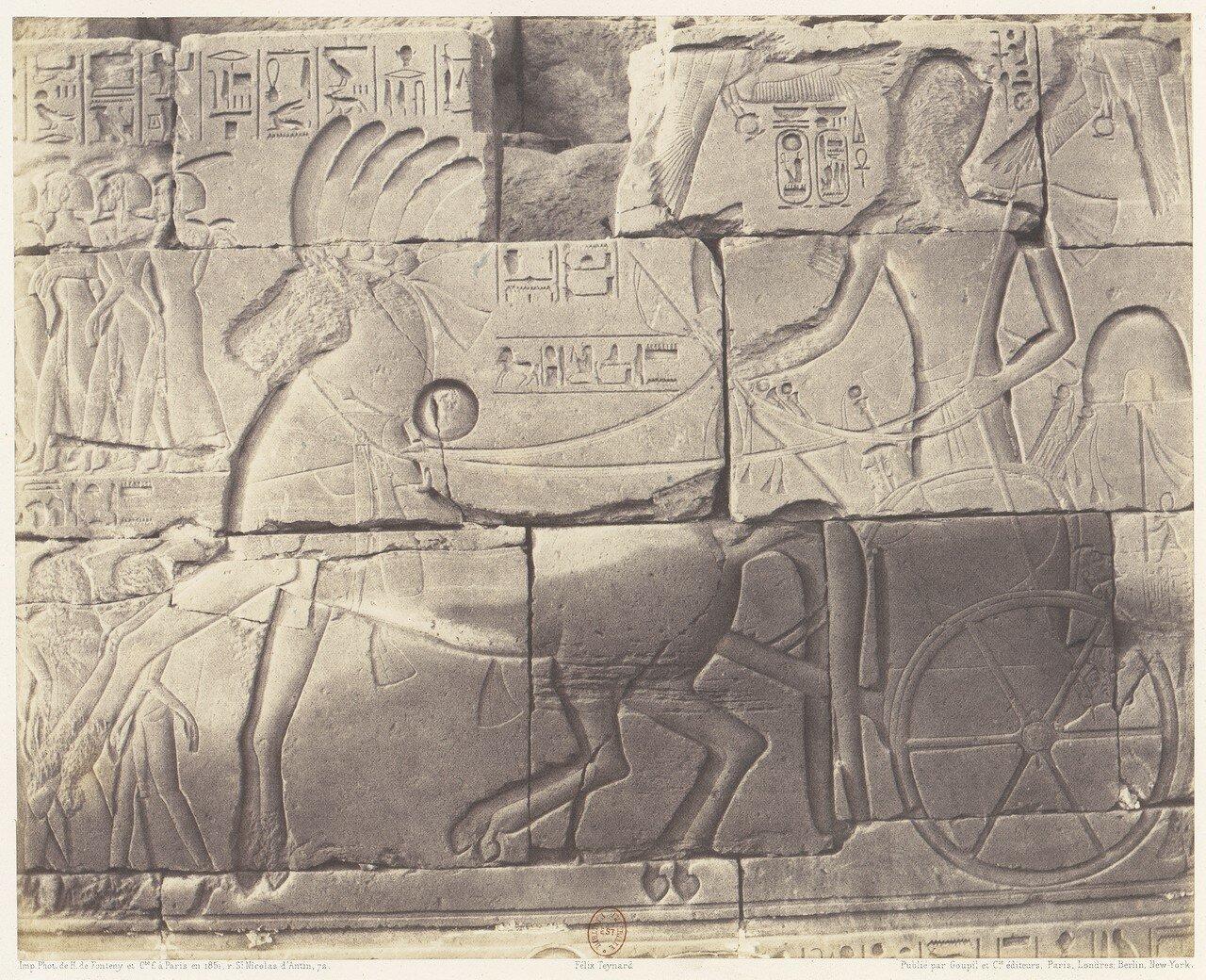 Карнак. Рельеф внутренней стены