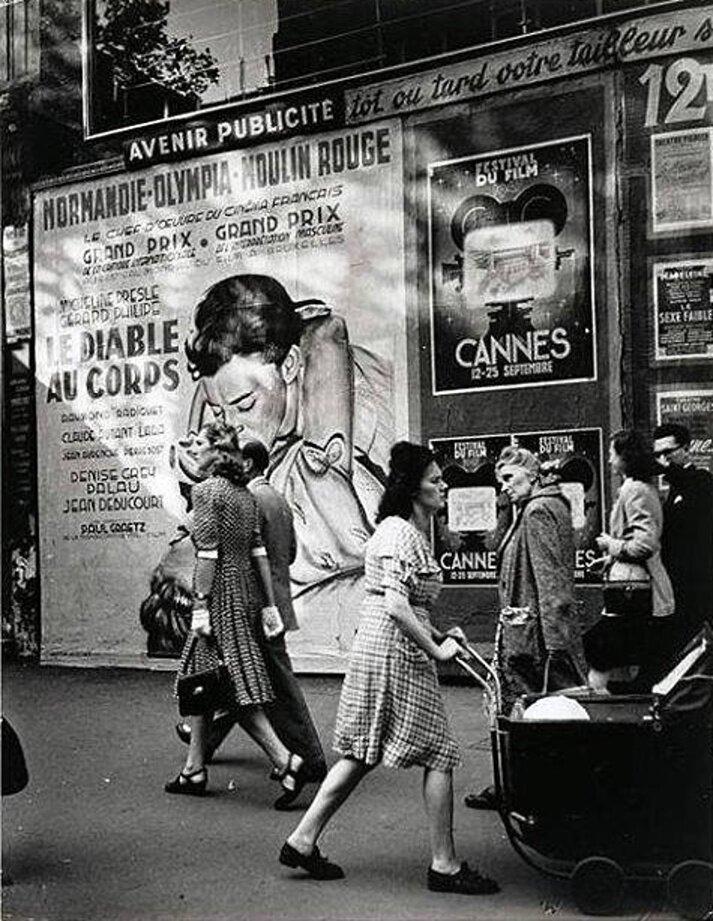 1947. На бульварах Парижа