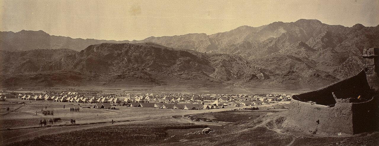 36. Британский военный лагерь в Ланди-Котале