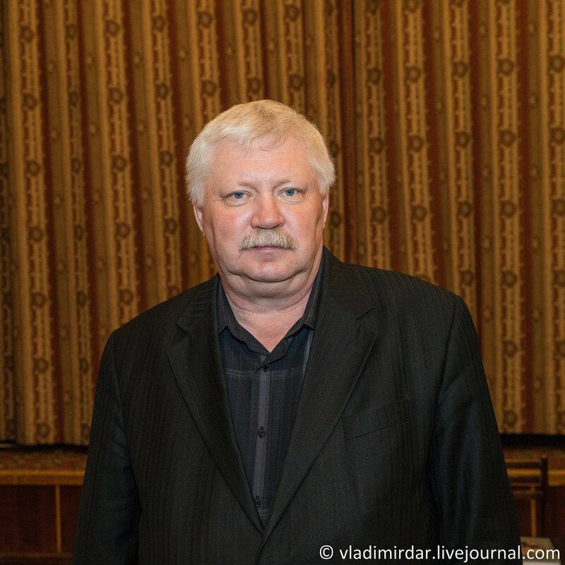 Творческий вечер писателя Вадима Арефьева в ЦДЛ
