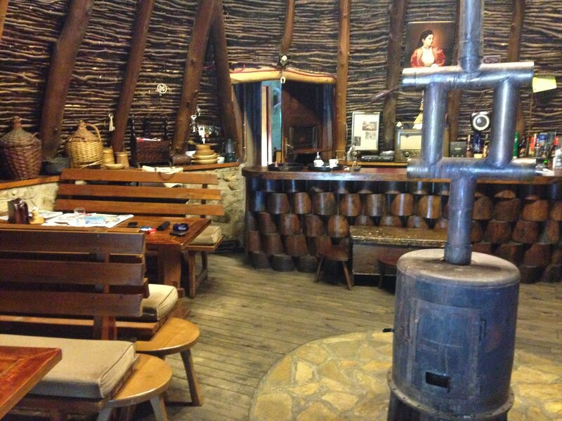 Колашин летом, ресторан Савардак