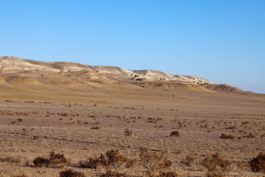 6. Пустыни юго-западного Казахстана.
