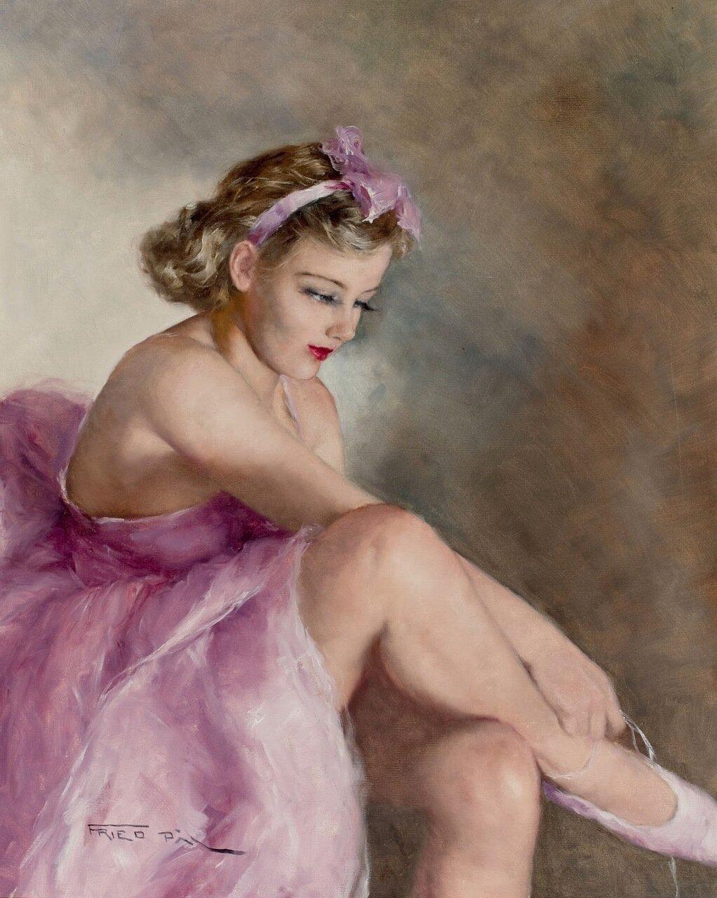 Картинки по запросу Пал Фрид Балерины