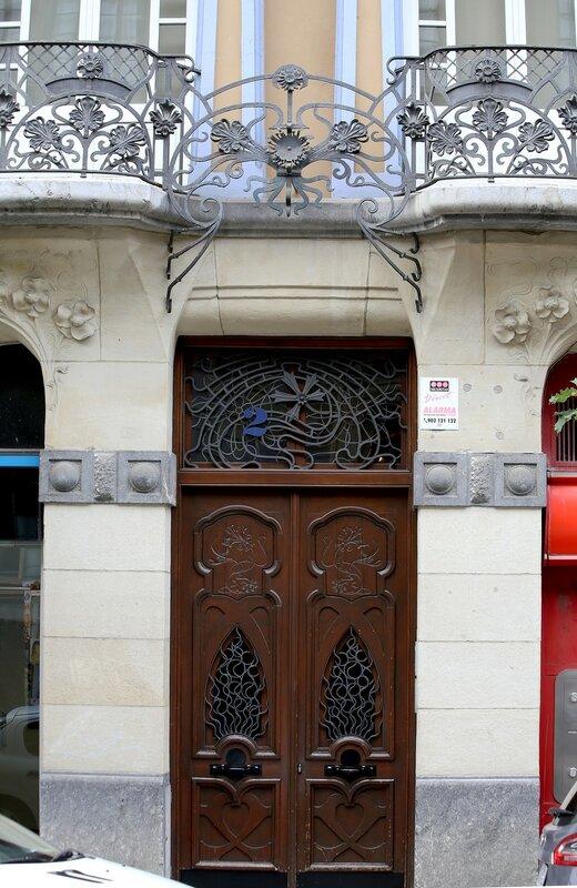 Бильбао. Дом Гуриди (Edificio Guridi), модерн