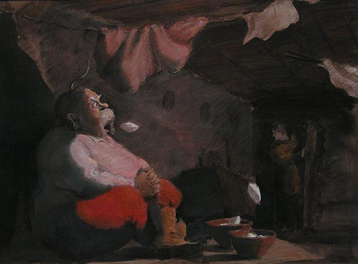 Николай Васильевич Гоголь - Ночь перед Рождеством - Кожин Валерий - Галушки