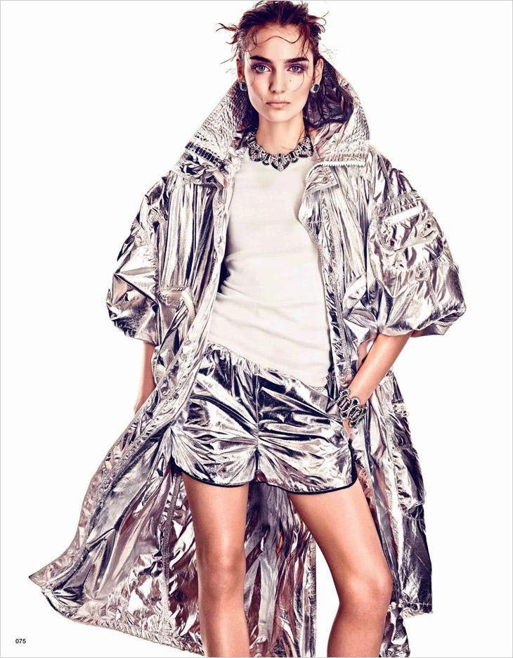 Zuzanna Bijoch в июньском Vogue Japan 2014