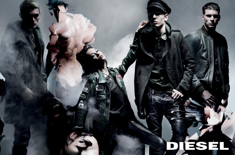 Рекламная фотосессия Diesel 2014