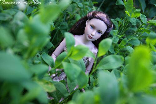 Элонви в саду