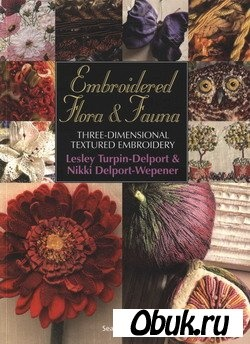 Книга Embroidered Flora & Fauna