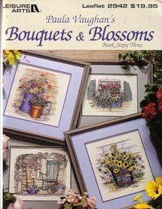 Журнал Paula Vaughan's Bouquets & Blossoms