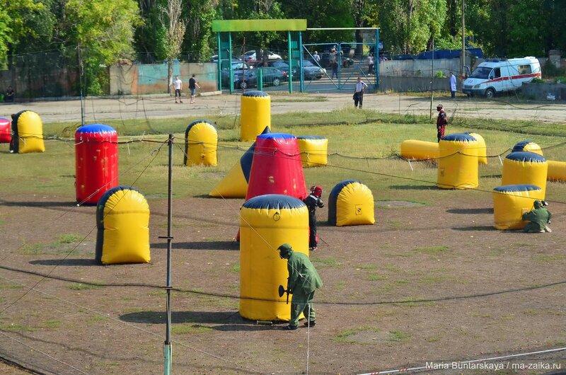 Чемпионат ПФО по пейнтболу, Саратов, стадион 'Авангард', 06 сентября 2015 года