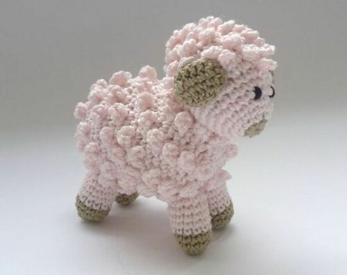 Вязаные овечки