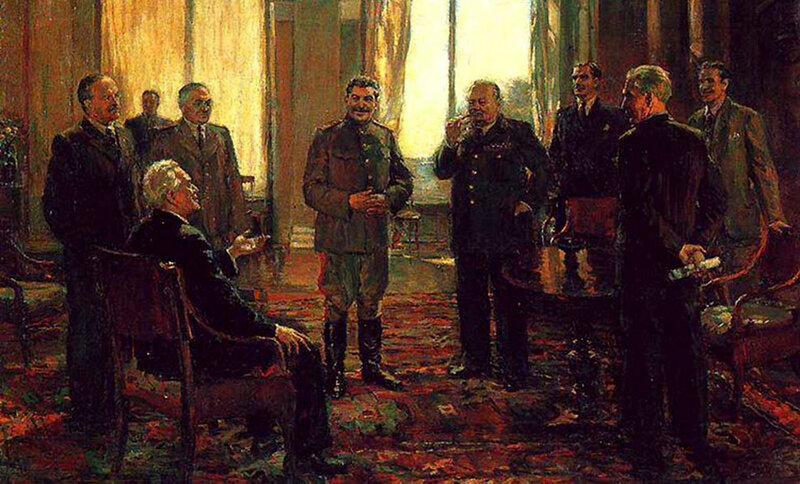 Д. Налбандян - Крымская конференция. 1945 год