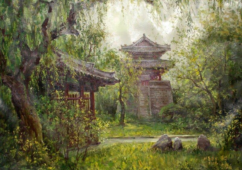 Весеннее. Hong Сheolung