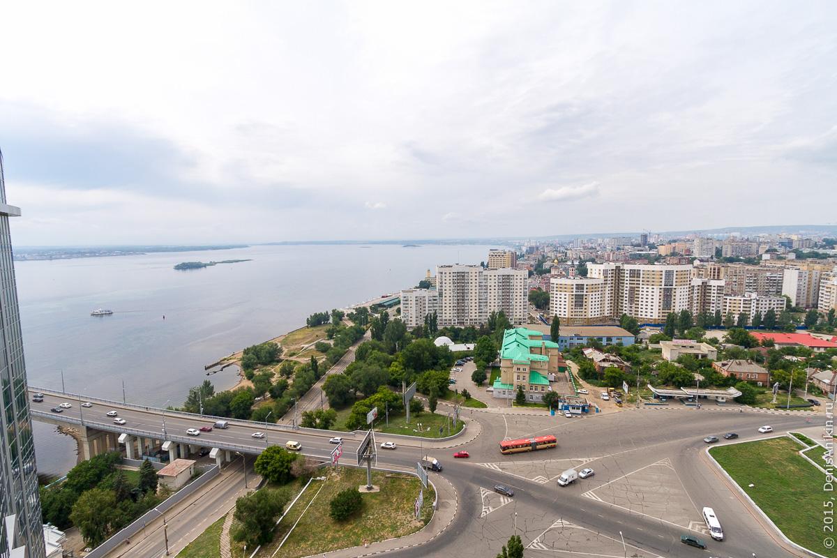 Саратов панорама крыша 12