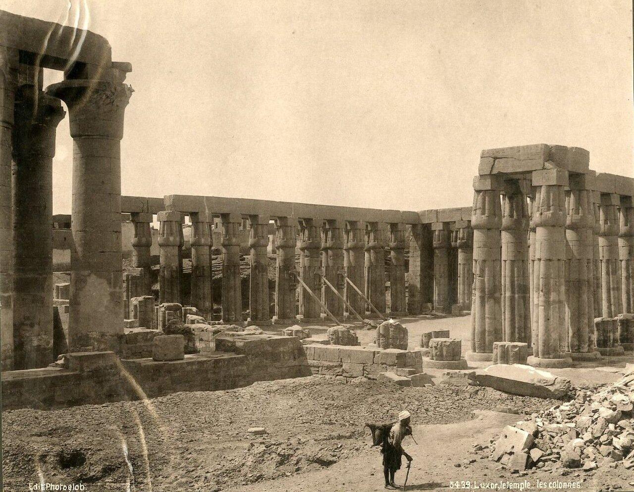 Луксор, Храм и колонны