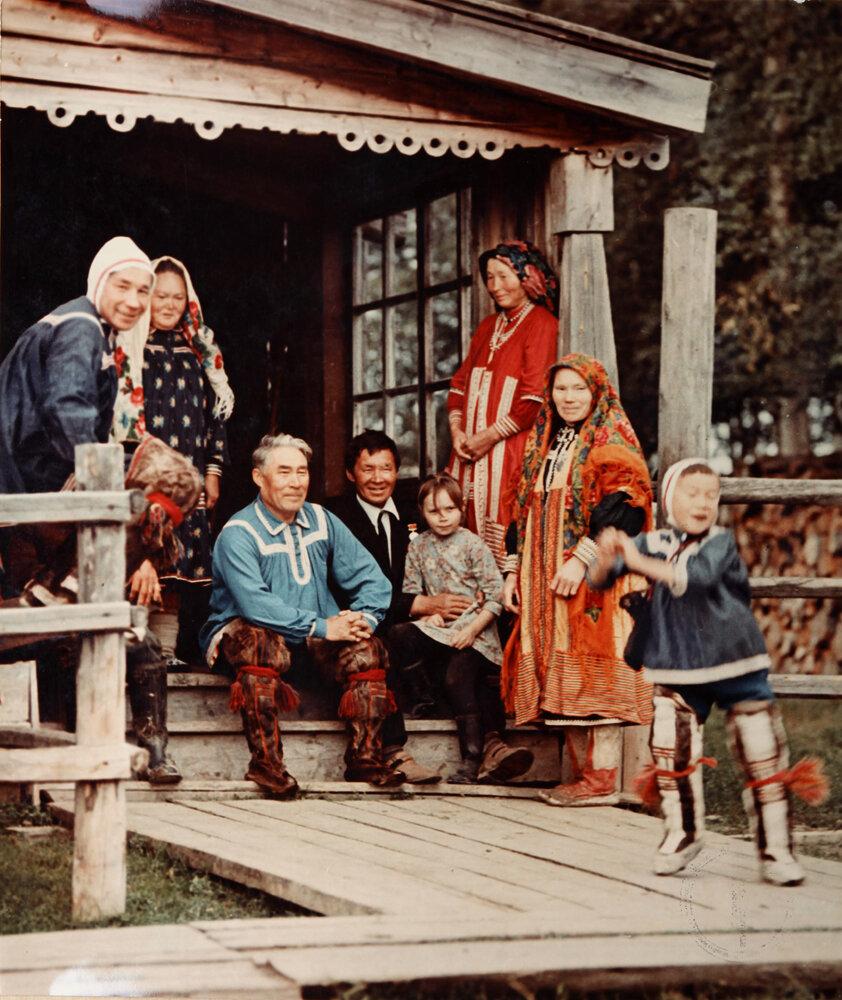 1972. Большая семья