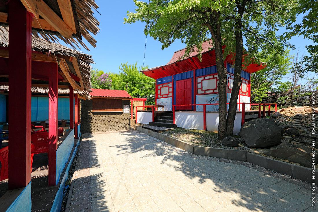 Соколова гора Корейский двор национальная деревня народов Саратовской области