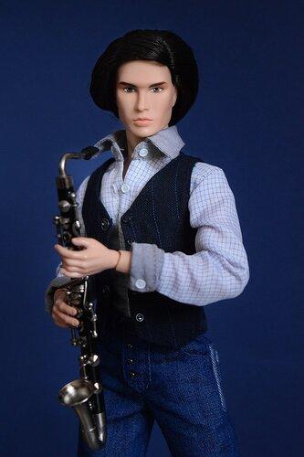 Музыкальные инструменты №27 - Бас-кларнет