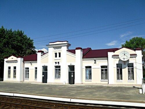 Вокзал ст. Хотмыжск