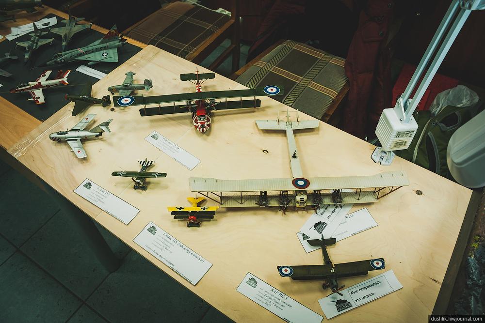XIII региональная выставка-конкурс стендового моделизма в Челябинске