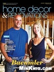Журнал Home Decor & Renovations - January/February 2015