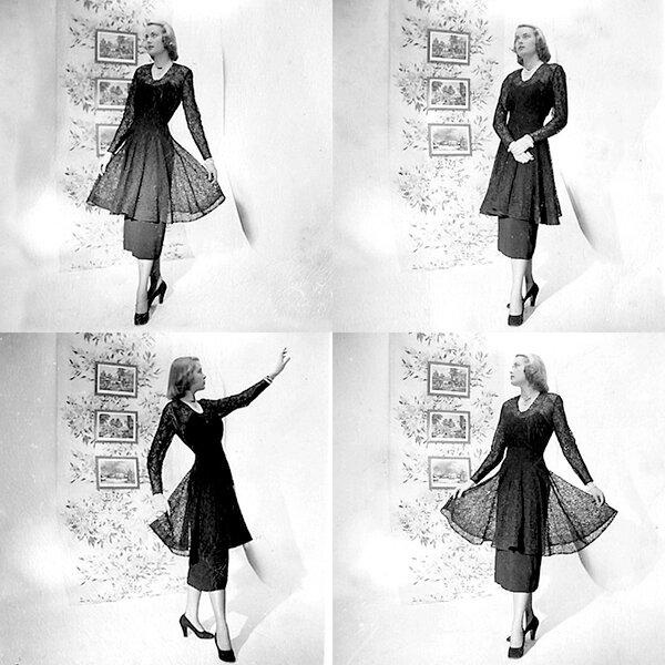 Грейс Келли в модельном агенстве (фото №1)